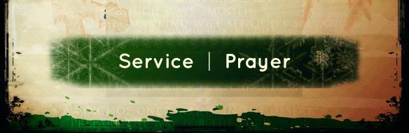 service&prayer