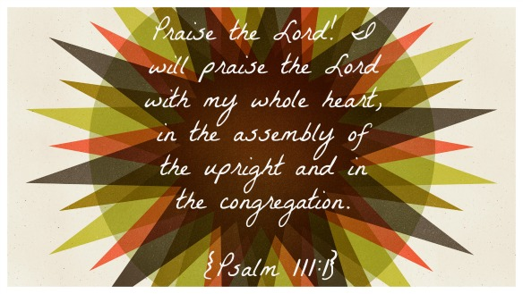 Psalm 111.1