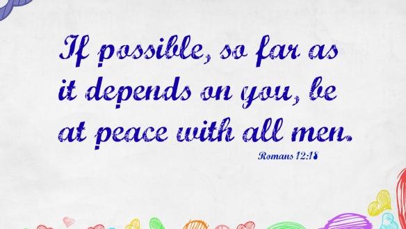 Romans 12.18