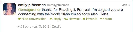Emily P Freeman Tweet