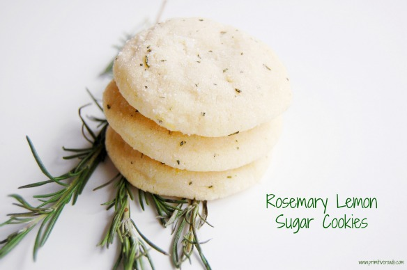 Rosemary Lemon Cookies