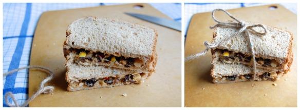 Train Mix Sandwich