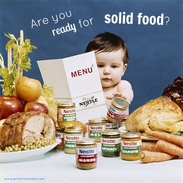 Are You Ready For Solid Food | Primitive Roads