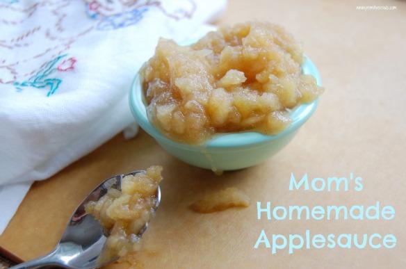 Mom's Homemade Applesauce | Primitive Roads