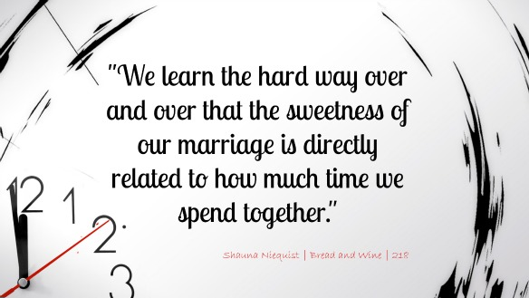 The Sweetness of Our Marriage