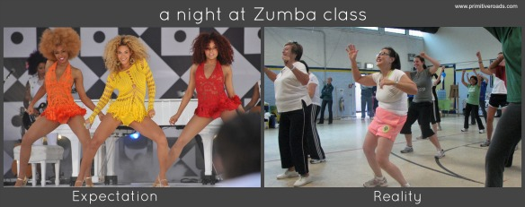 Zumba - Expectation and Reality