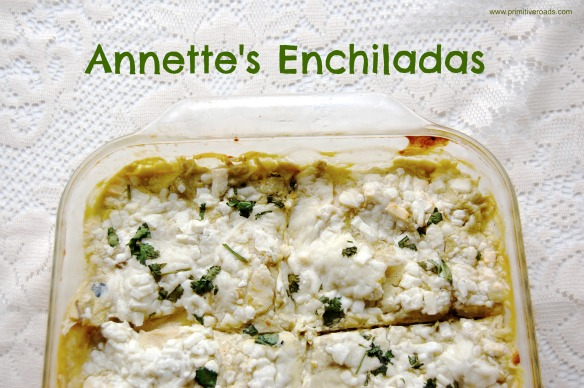 Annette's Enchiladas