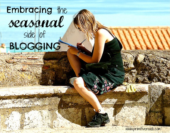 The Seasonal Side of Blogging