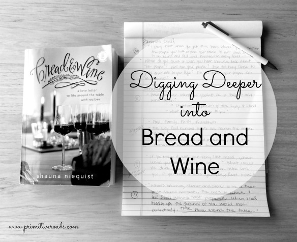 Expanded discussion guides for Bread and Wine