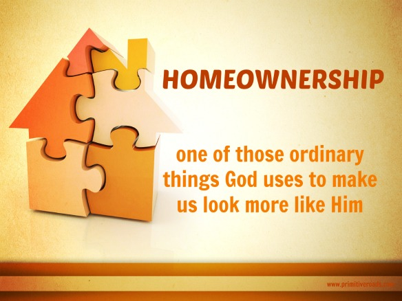 Sacred Homeownership