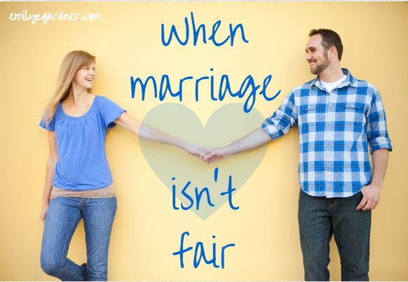 when marriage isn't fair