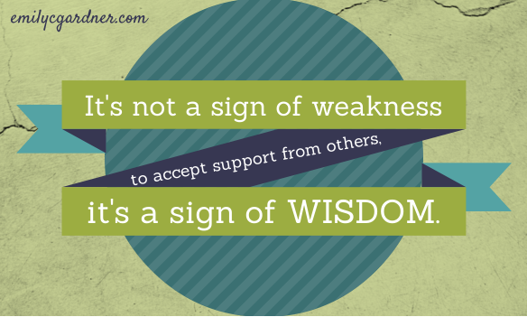 weakness vs. wisdom