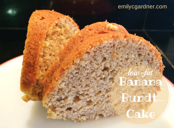 Low-Fat Banana Bundt Cake
