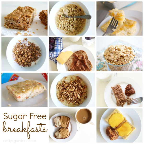 sugar-free breakfasts