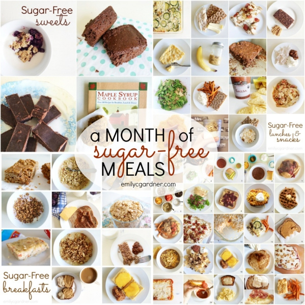 A month of sugar-free meals
