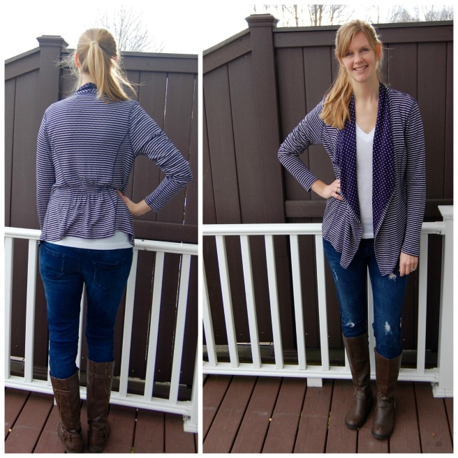 Margerie Strip Cardigan